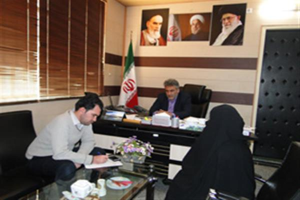 ملاقات عمومی فرماندار شهرستان نهبندان با شهروندان