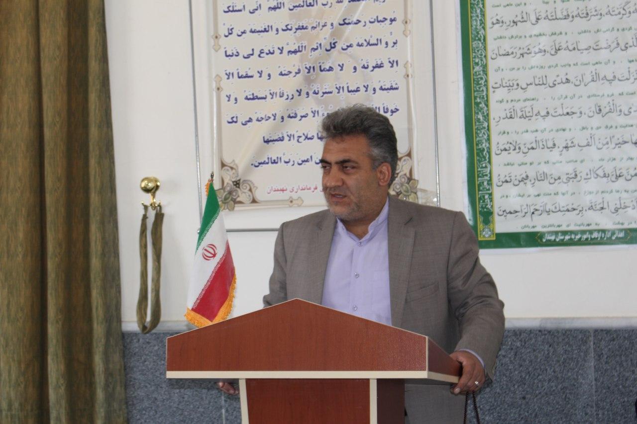 برگزاري جلسه ستاد بزرگداشت هفته دولت شهرستان نهبندان